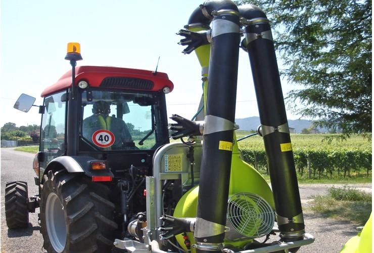 Sprayer-Espalier vineyards-Articulated-Vs 50 Lt 600 - Lt 1000