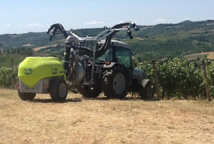 Sprayer-Espalier vineyards-Multi-wire-Power 55.12  Lt 1000 - Lt 1500 - Lt 2000