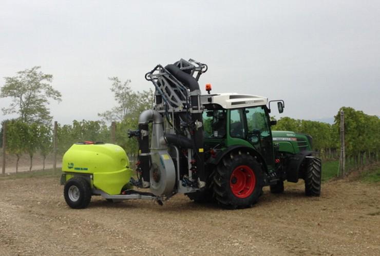 Sprayer-Espalier vineyards-Multi-wire-Power Multirow A Doppia Calata Centralelt 1000 - Lt 1500 - Lt 2000