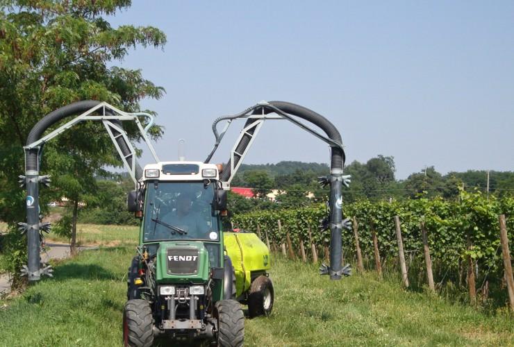 Sprayer-Espalier vineyards-Multi-wire-Power Multirow A Singola Calata Centralelt 1000 - Lt 1500 - Lt 2000