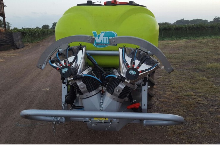 Sprayer-Canopied vineyards-Portable-Nm 200