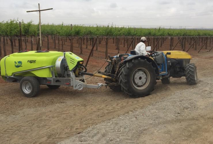 Sprayer-Canopied vineyards-Trailed -Optima Lt 1500 - Lt 2000