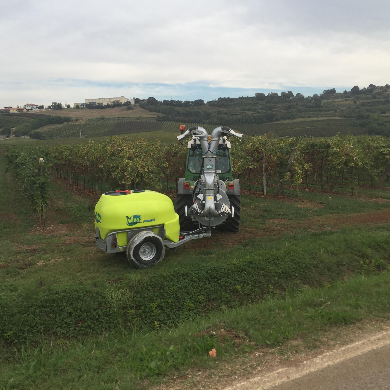 Sprayer-Espalier vineyards-Articulated-Power 55lt 1000 - Lt 1500 - Lt 2000