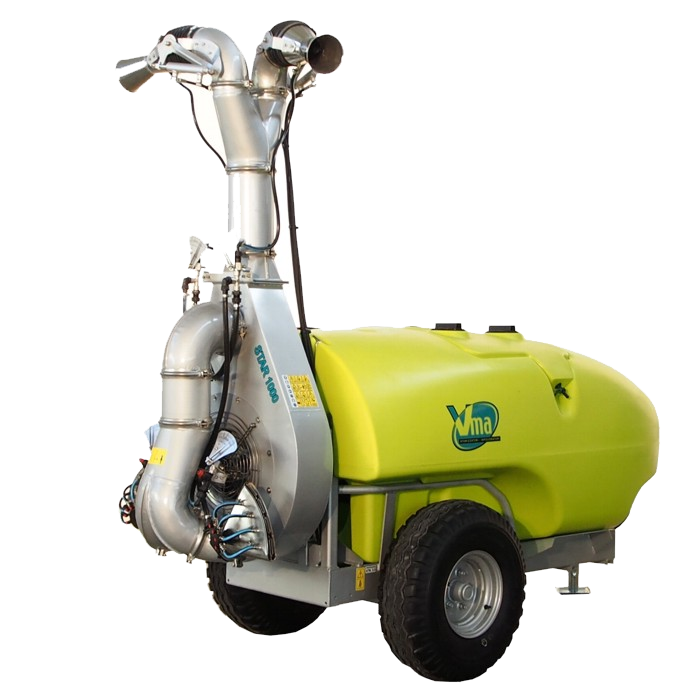 Sprayer-Espalier vineyards-Trailed  - STAR 50 LT 1000 - ≥ CV 75 - 55 KW