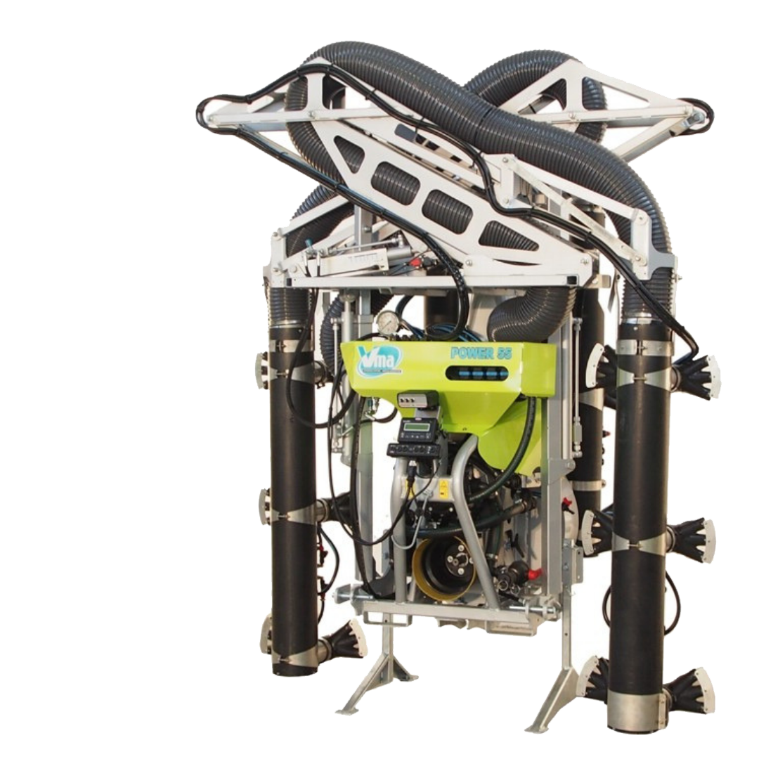 Sprayer-Espalier vineyards-Multi-wire - POWER MULTIROW A DOPPIA CALATA CENTRALE<br>LT 1000 - LT 1500 - LT 2000 - ≥ CV 75 - 55 KW