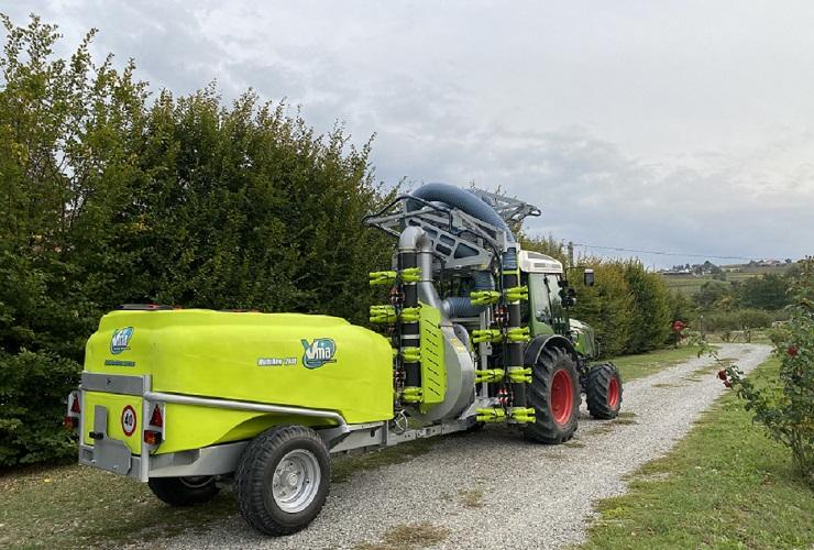 Sprayer-Espalier vineyards-Articulated-Multirow 2020