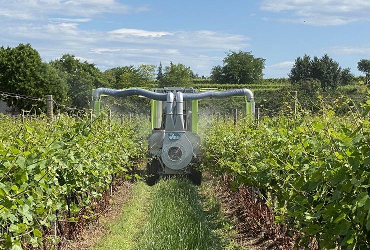 Sprayer-Espalier vineyards-Anti-drift-Bellica