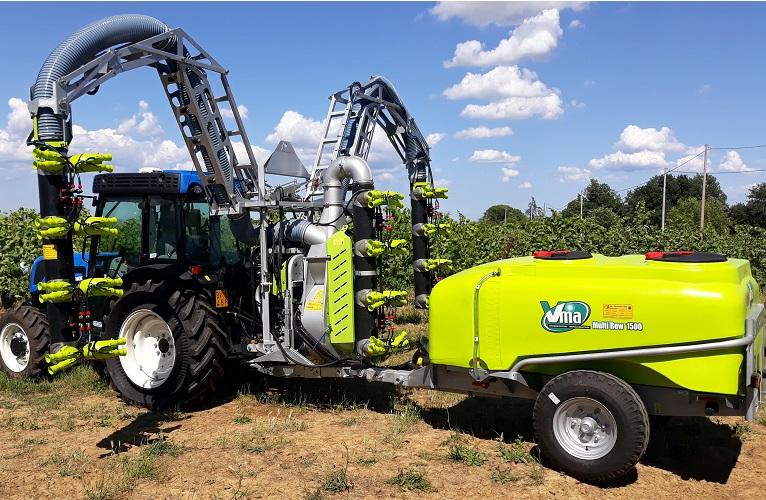 Sprayer-Espalier vineyards-Multi-wire-Multirow 2020