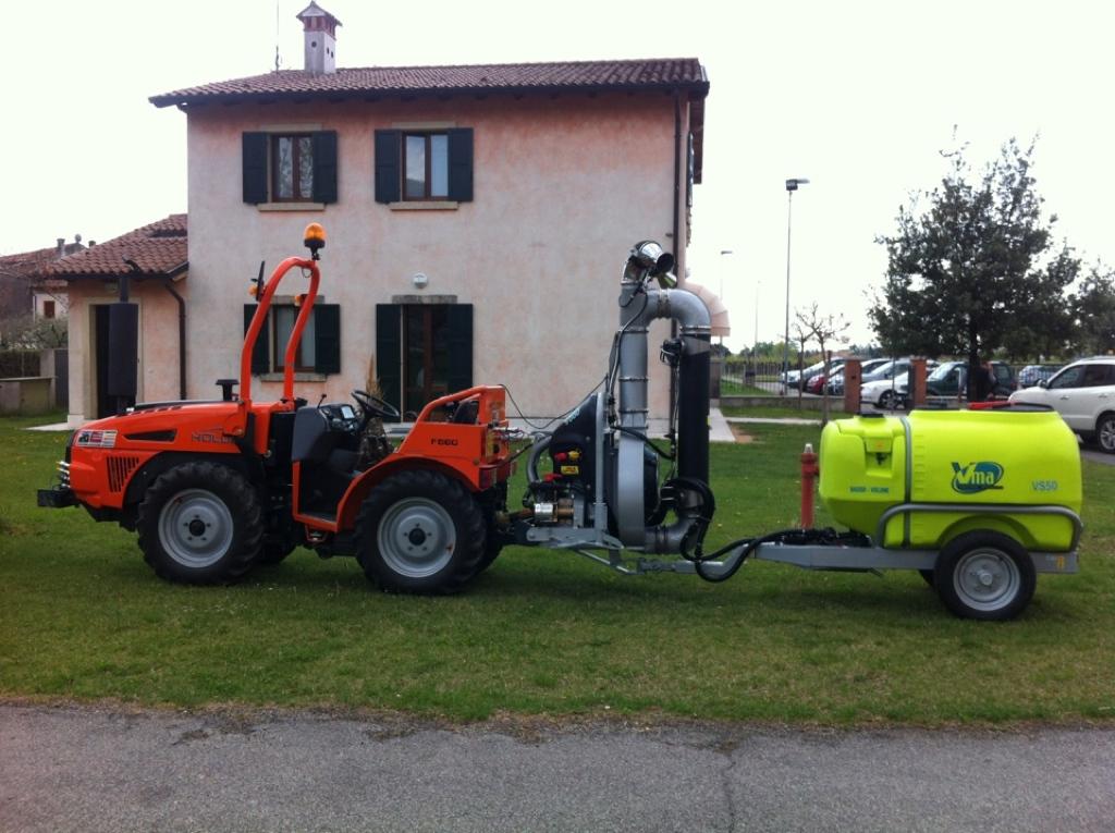Sprayer-Espalier vineyards-Two-wire-Power 55lt 1000 - Lt 1500 - Lt 2000
