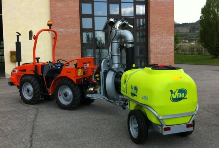 Sprayer-Espalier vineyards-Two-wire-Power 50lt 1000 - Lt 1500 - Lt 2000